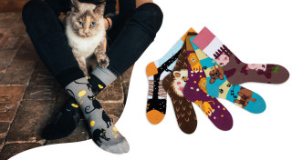 Veselé ponožky zvieracie