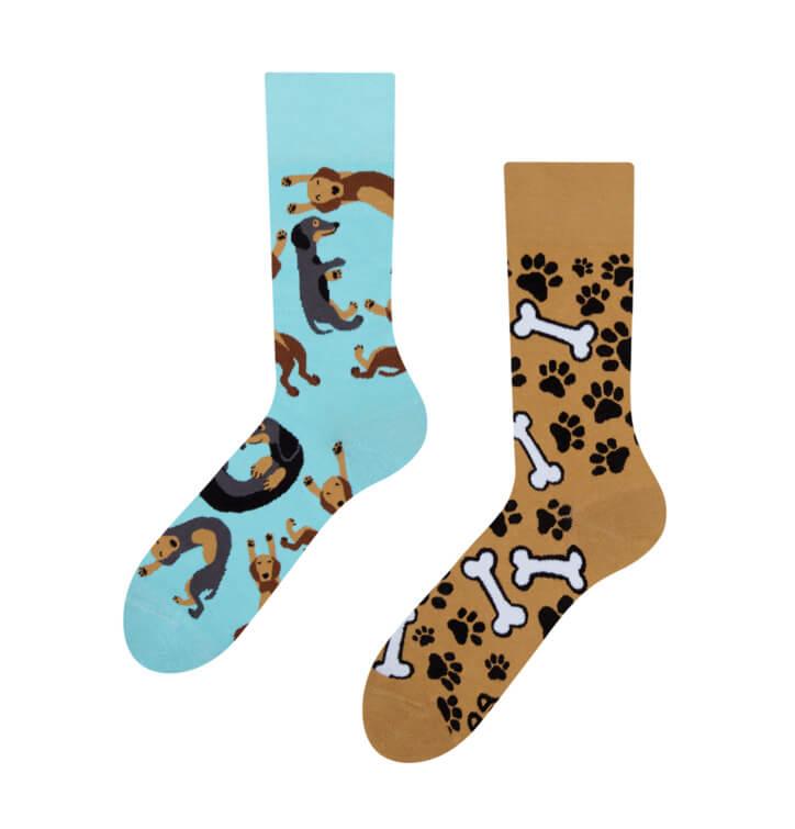 Good Mood ponožky Jazvečík - veľkosť 35-38