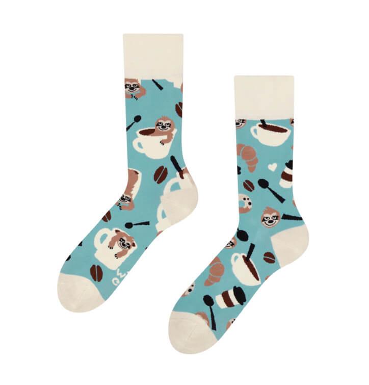 Good Mood ponožky Leňochod v pohári - veľkosť 35-38