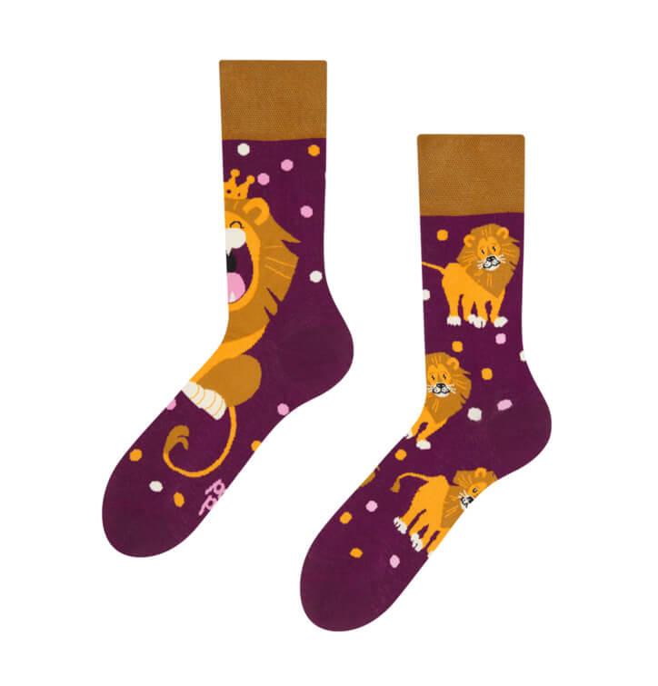 Good Mood ponožky Kráľ džungle - veľkosť 35-38