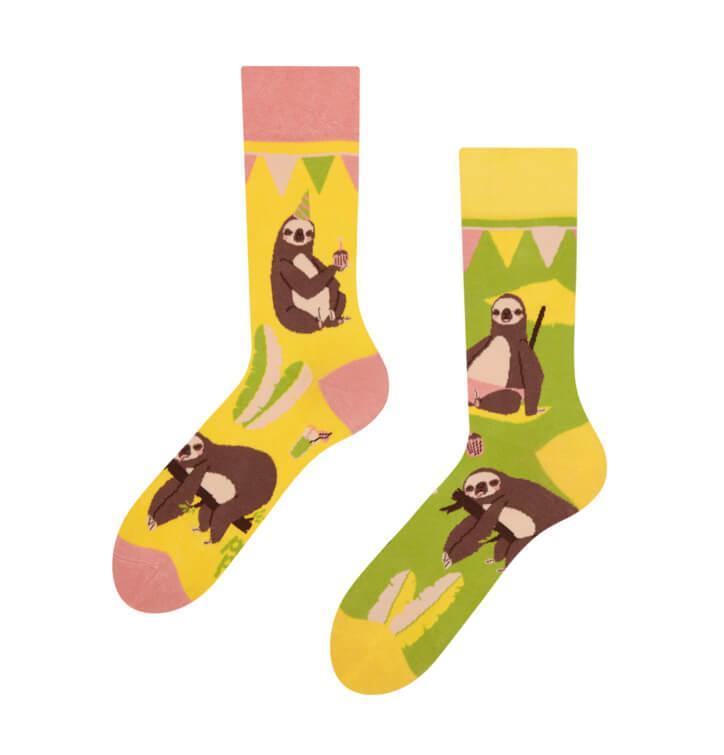 Good Mood ponožky Párty leňochod - veľkosť 35-38