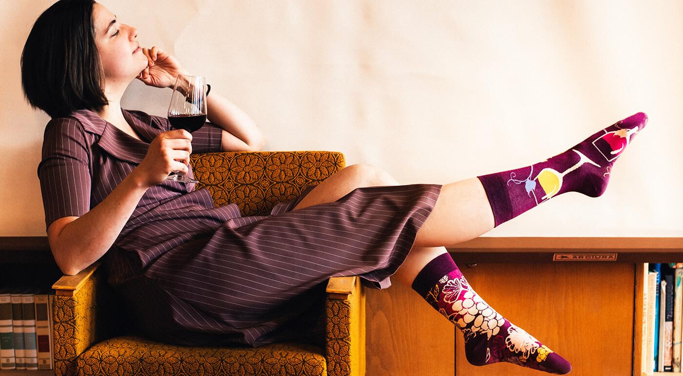 Ponožky Good Mood od Dedoles - edícia Fajnotky