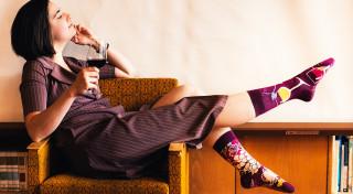 Veselé ponožky Fajnotky