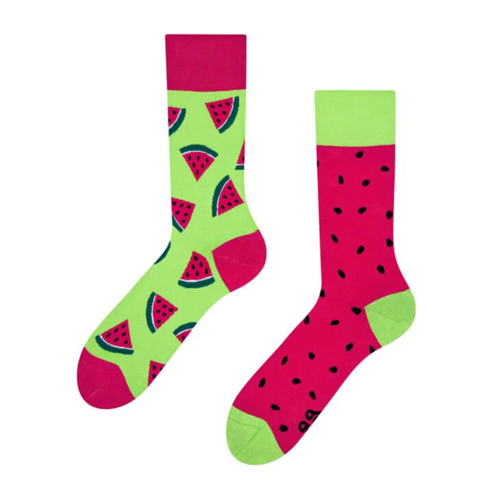 Good Mood ponožky Červený melón - veľkosť 35-38