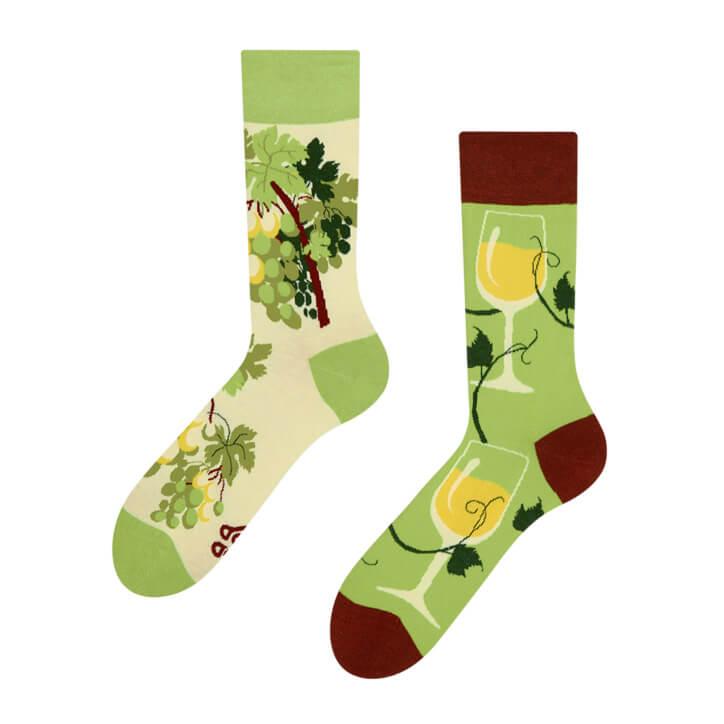 Good Mood ponožky Biele víno - veľkosť 35-38