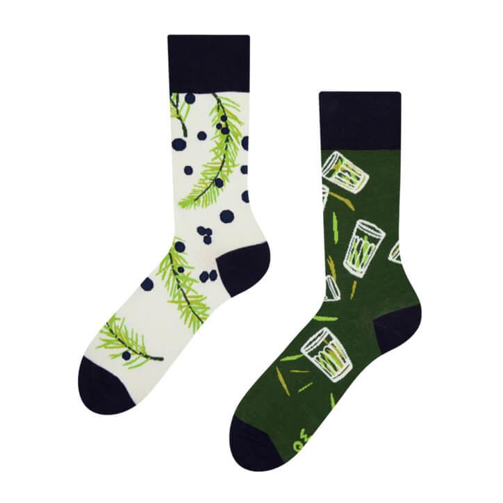 Veselé ponožky Borovička - veľkosť 43-46