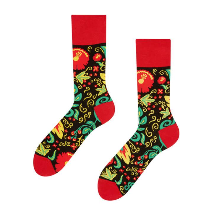 Good Mood ponožky Folk - veľkosť 35-38