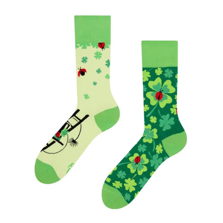 Good Mood ponožky Štvorlístok pre šťastie - veľkosť 35-38