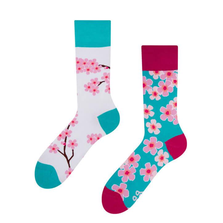 Good Mood ponožky Sakura - veľkosť 35-38