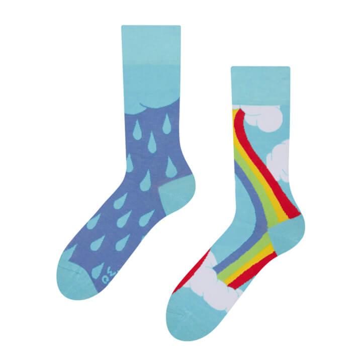 Good Mood ponožky Dúha - veľkosť 35-38