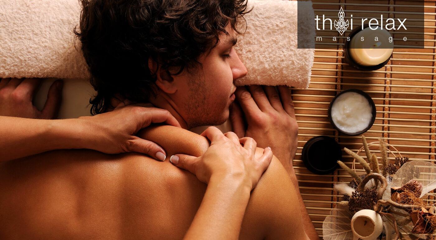 Thajská masáž celého tela alebo bylinková masáž chrbta v masážnom salóne Thai Relax v Trnave