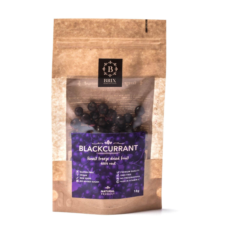 BRIX Mrazom sušená čierna ríbezľa 35 g