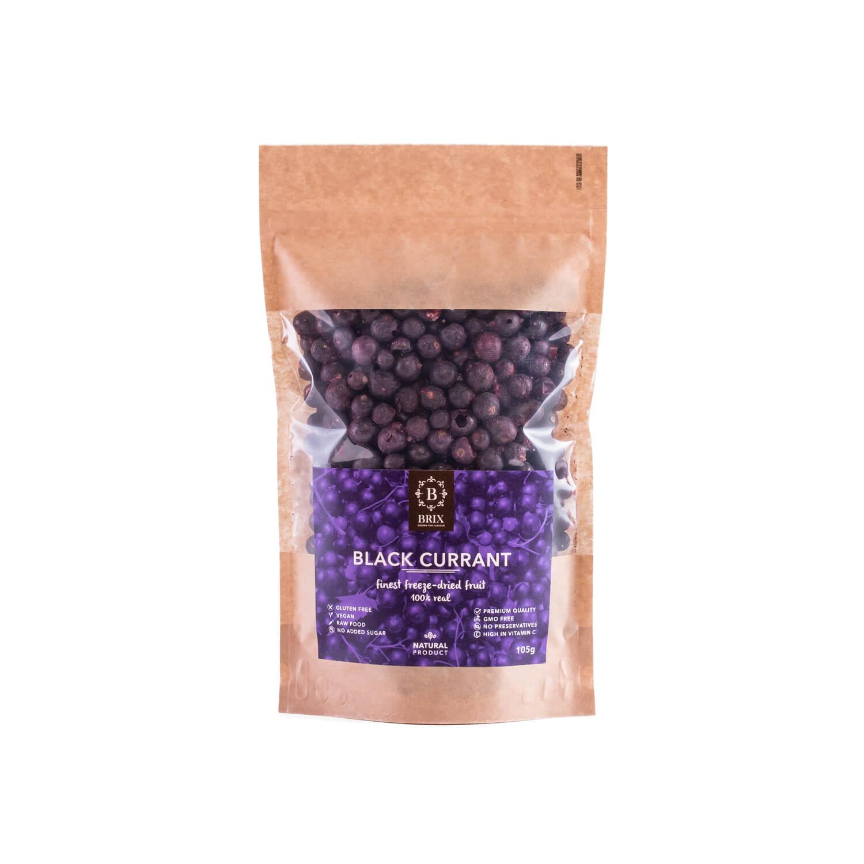BRIX Mrazom sušená čierna ríbezľa 105 g