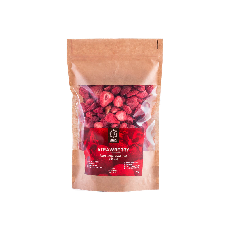BRIX Mrazom sušená jahoda 75 g