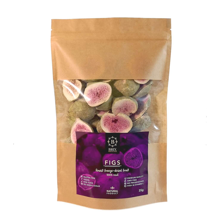 BRIX Mrazom sušená figa 35 g