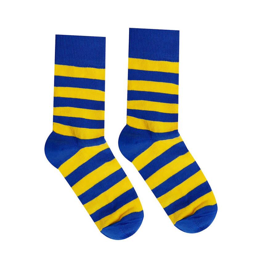 Hesty Socks ponožky Kráľovské pásiky - veľkosť 35-38