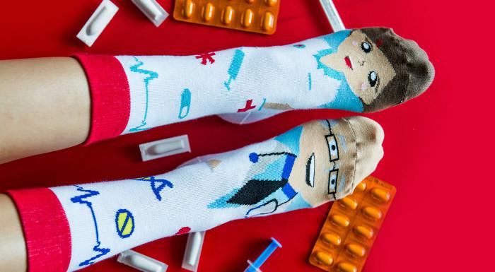 Ponožky Hesty Socks s veselými postavičkami