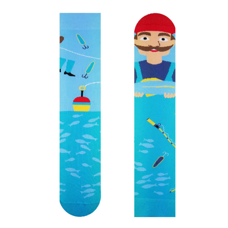 Hesty Socks ponožky Rybár - veľkosť 35-38