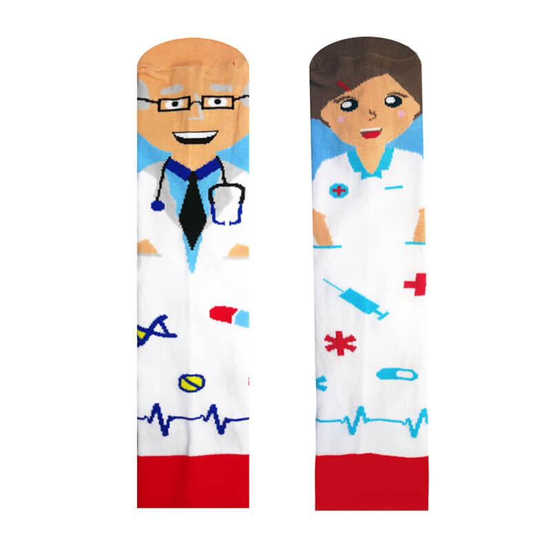 Hesty Socks ponožky Doktor a Sestrička - veľkosť 35-38