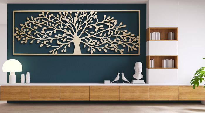 Drevené dekorácie vyrobené na Slovensku