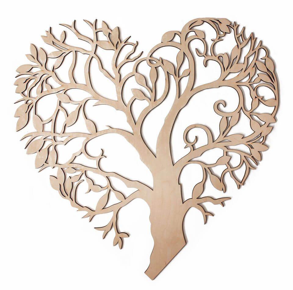 Kvitnúce srdce 74 x 69 cm
