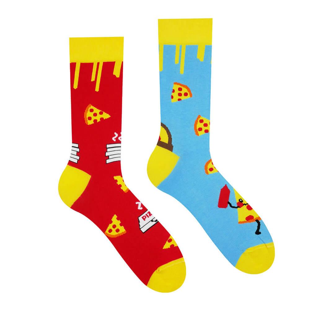 Hesty Socks ponožky Pizza - veľkosť 35-38