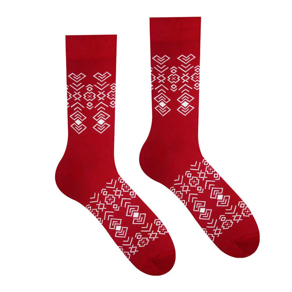 Hesty Socks ponožky Čičman bordový - veľkosť 35-38