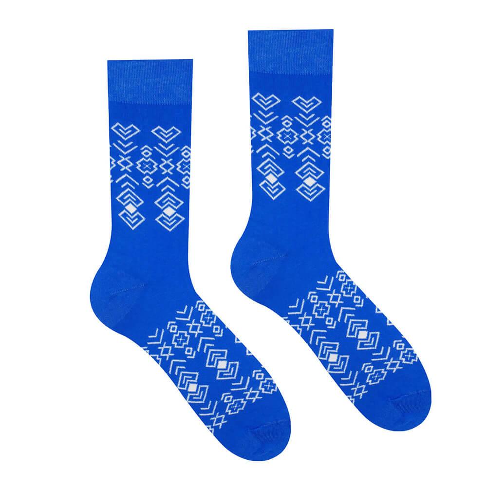 Hesty Socks ponožky Čičman modrý - veľkosť 35-38