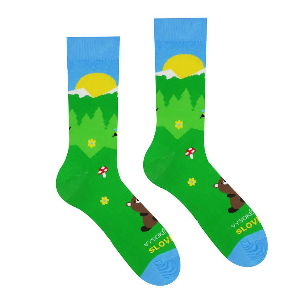 Hesty Socks ponožky Vysoké Tatry Medveď - veľkosť 35-38