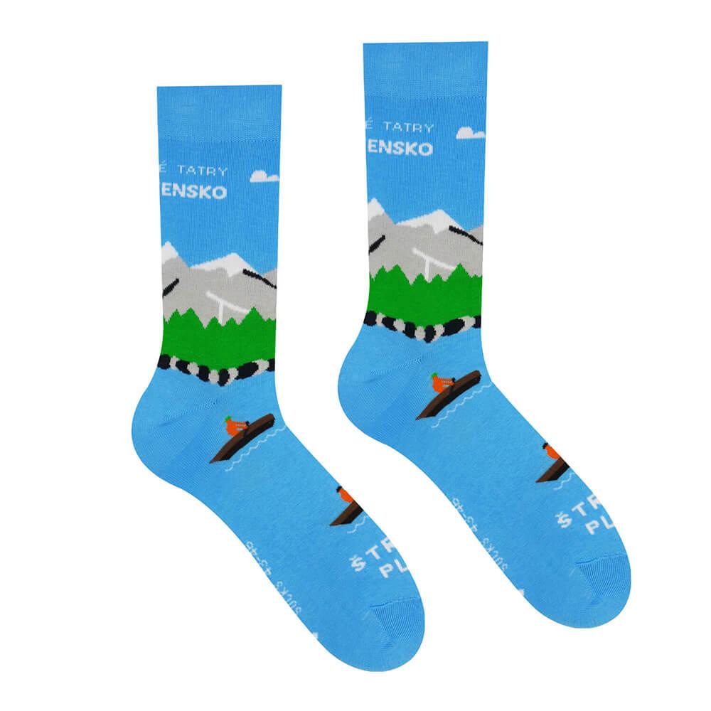Hesty Socks ponožky Vysoké Tatry Štrbské pleso - veľkosť 35-38