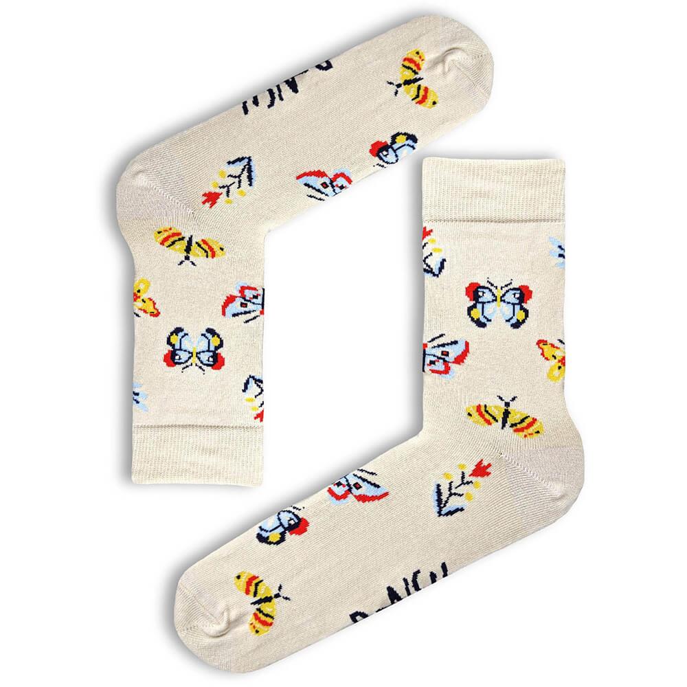 Ponožky Ponsh Motýliky - veľkosť 35-38