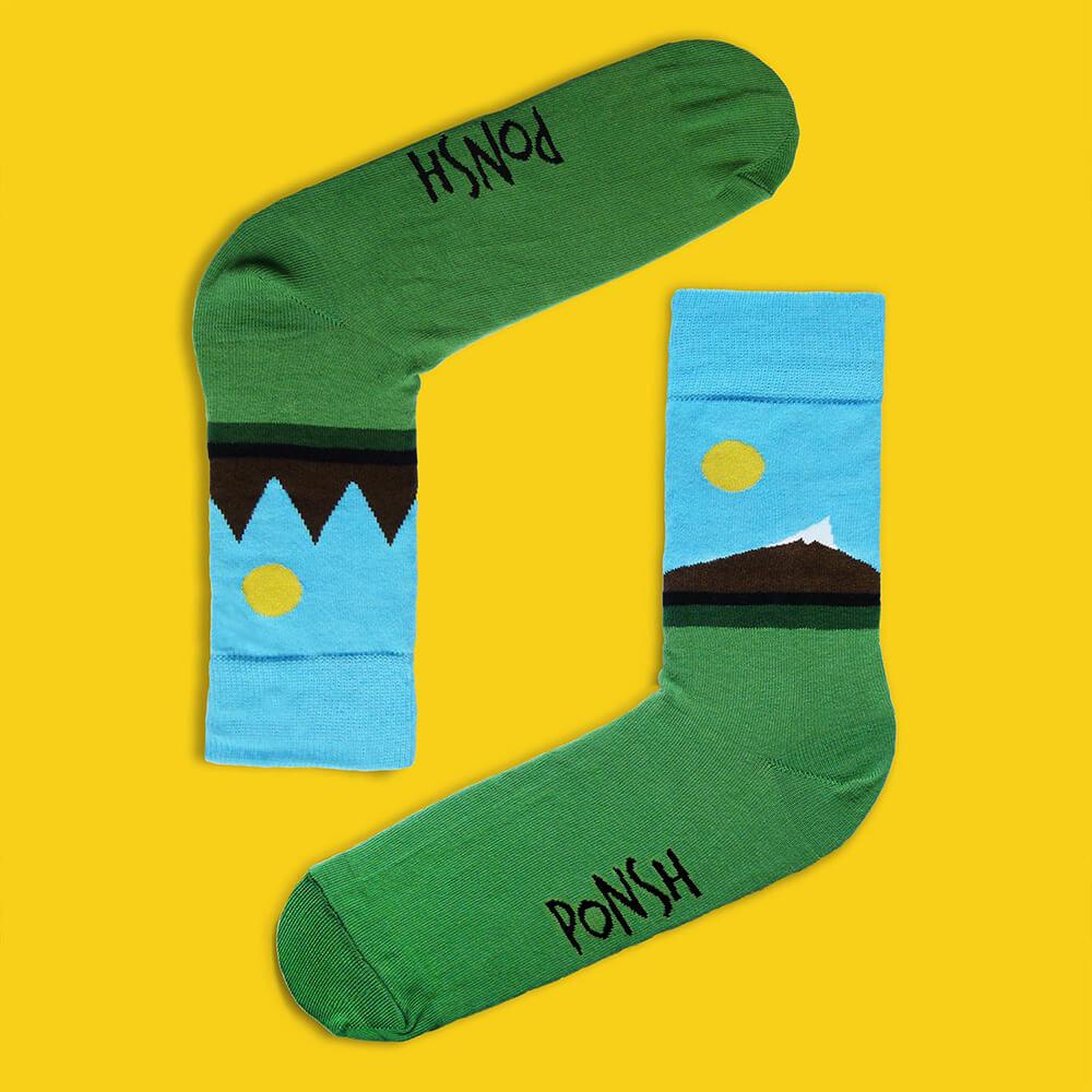 Ponožky Ponsh Krivánky - veľkosť 39-42