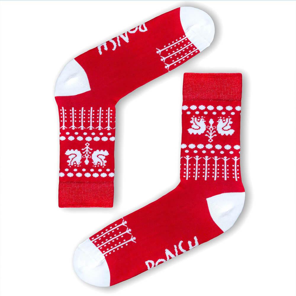 Ponožky Ponsh Holubičky - veľkosť 35-38