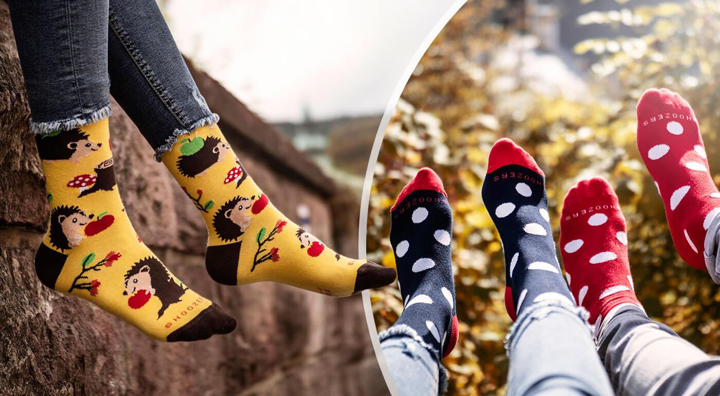Ponožky SHOX s milými vzormi, ktoré vylepšia váš deň