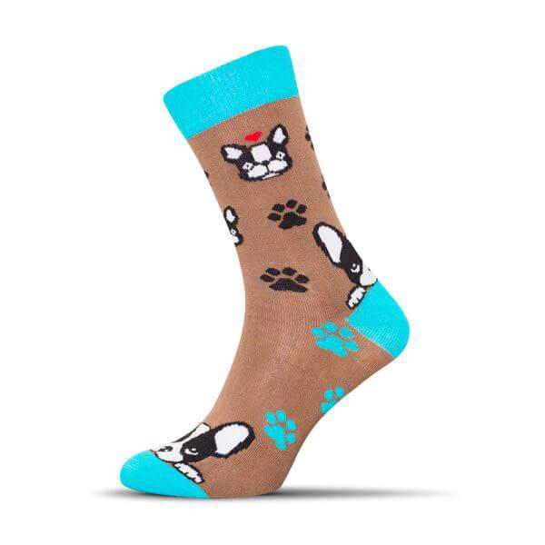 Ponožky Shox Buldoček - veľkosť 39-42
