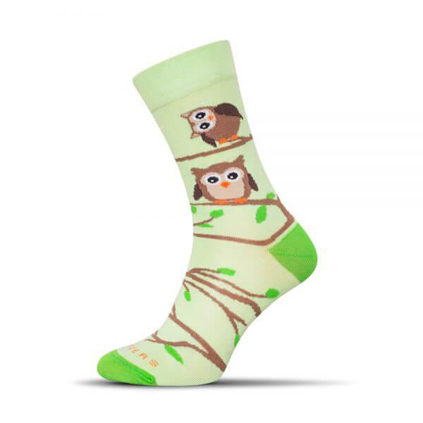 Ponožky Shox Sova - veľkosť 35-38
