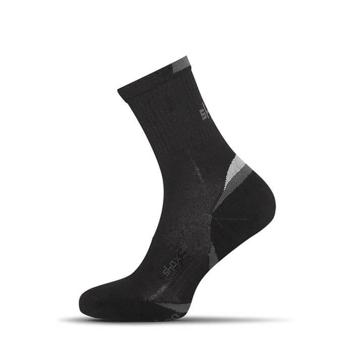 Ponožky Shox Clima Plus Bamboo čierne - veľkosť 35-37