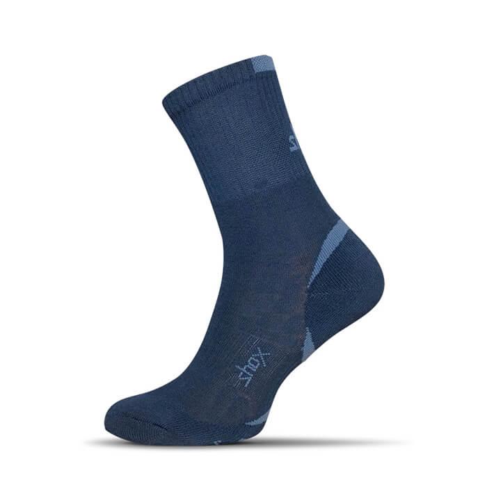 Ponožky Shox Clima Plus tmavomodré - veľkosť 35-37