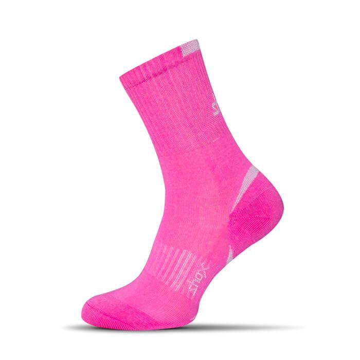 Ponožky Shox Clima Plus ružové - veľkosť 35-37