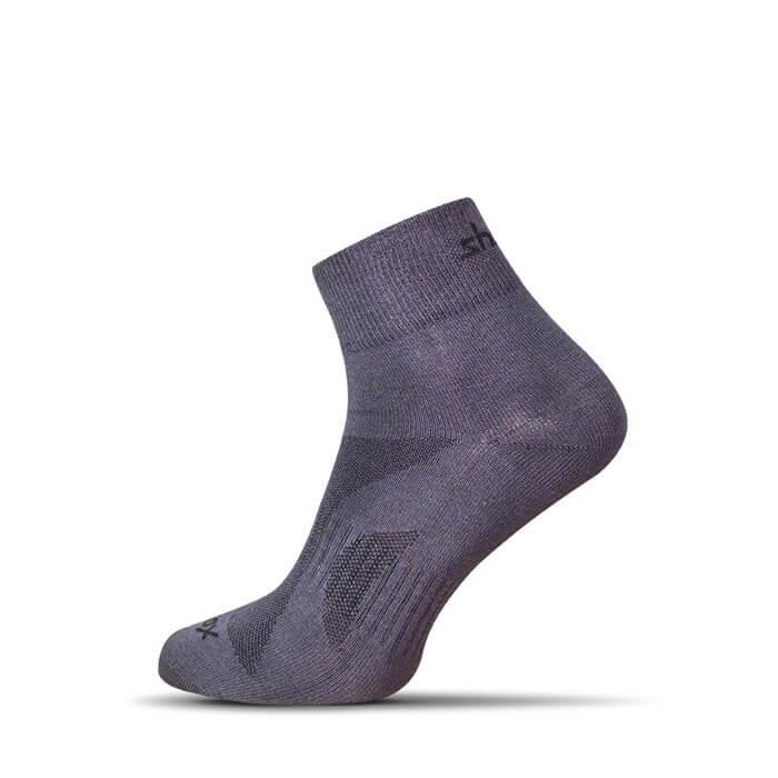 Ponožky Shox Medium tmavosivé - veľkosť 38-40