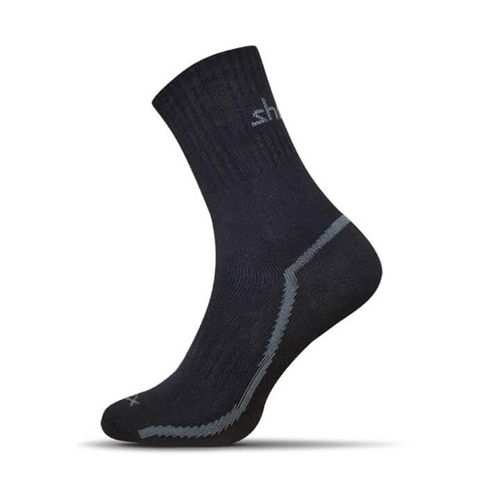 Ponožky Shox Sensitive čierne - veľkosť 35-37