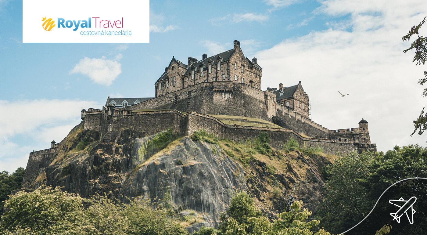 Škótsko: Letecký poznávací zájazd - Tajomný Edinburgh