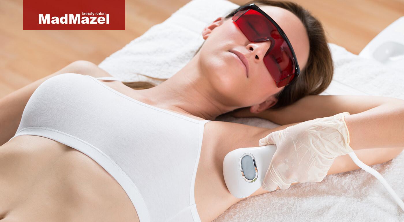 Epilácia diódovým laserom pre dámy aj pánov v salóne MadMazel