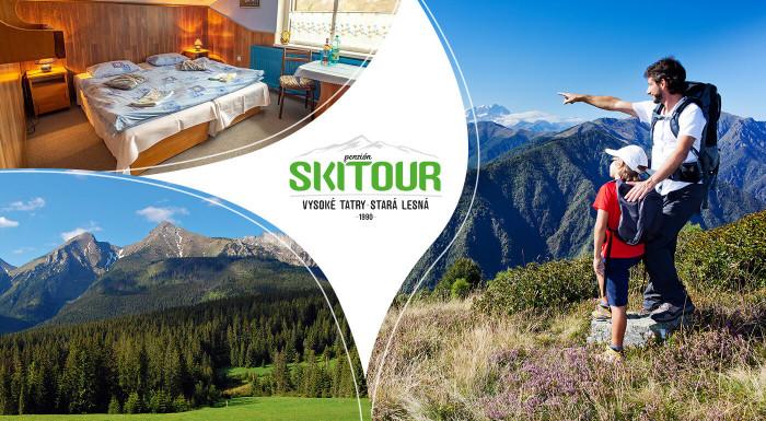 Májová dovolenka v Penzióne Skitour pod Tatrami