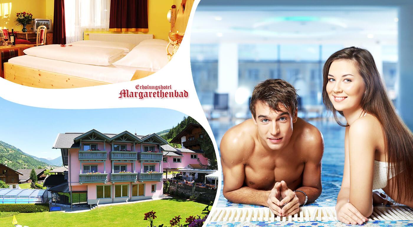 Rakúske Alpy: Dovolenka v luxusnom kúpeľnom Erholungshotel Margarethenbad**** s neobmedzeným wellness