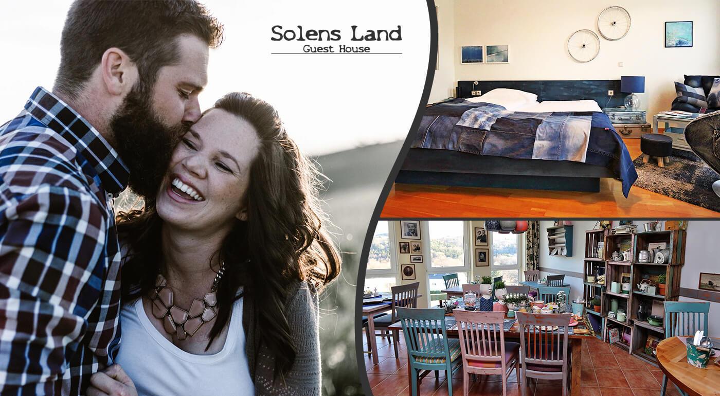 Rakúsko: Pobyt pri termálnych kúpeľoch v Solens Land Guest House
