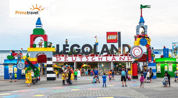 Zájazd do nemeckého Legolandu