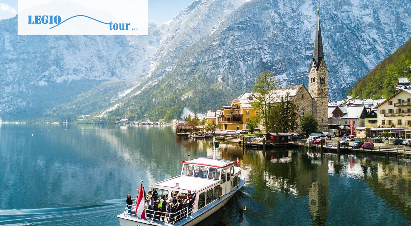 Rakúsko: 1-dňový poznávací zájazd s návštevou ľadovca Dachstein a mestečka Hallstatt