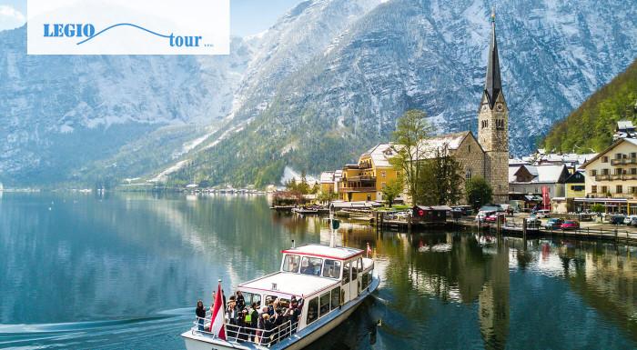 Spoznajte prírodné krásy Rakúska! Navštívte ľadovú jaskyňu, vyhliadku Päť prstov a mestečko Hallstatt. Z jednodňového zájazdu s CK Legiotour sa domov vrátite oddýchnutý a plný zážitkov.
