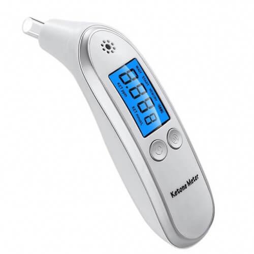 Dychový tester na meranie hladiny ketónov